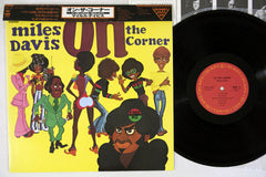 MILES DAVIS - ON THE CORNER - 1979 Japanese re-issue, used LP