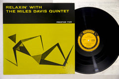 MILES DAVIS - RELAXIN' - 1976 MONO Japanese re-issue, used LP