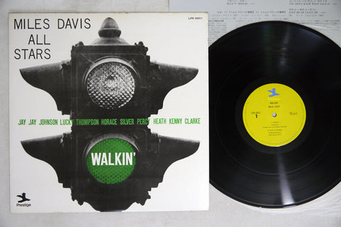 MILES DAVIS - WALKIN' - 1973, Japanese re-issue - used LP