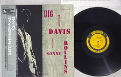 MILES DAVIS & SONNY ROLLINS - DIG - 1984 MONO Japanese re-issue, w/OBI, used LP