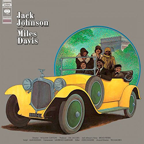 Miles Davis - A Tribute to Jack Johnson - new LP