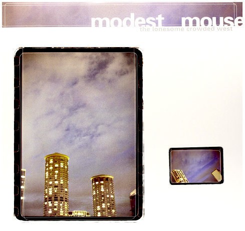 Modest Mouse - The Lonesome Crowded West - new LP