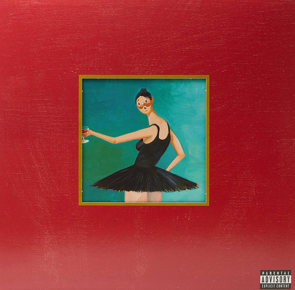 Kanye West - My Beautiful Dark Twisted Fantasy - new 3LP