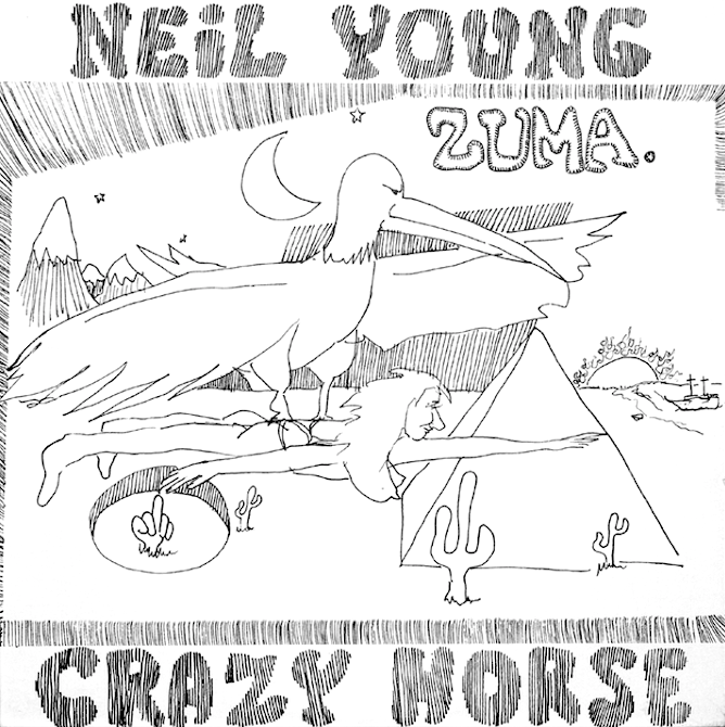Neil Young - Zuma - new LP