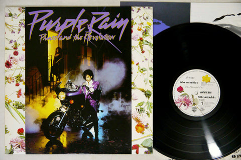 PRINCE AND THE REVOLUTION -  PURPLE RAIN - 1984 1st Japanese pressing, used LP