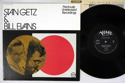STAN GETZ & BILL EVANS - Japanese pressing, used LP