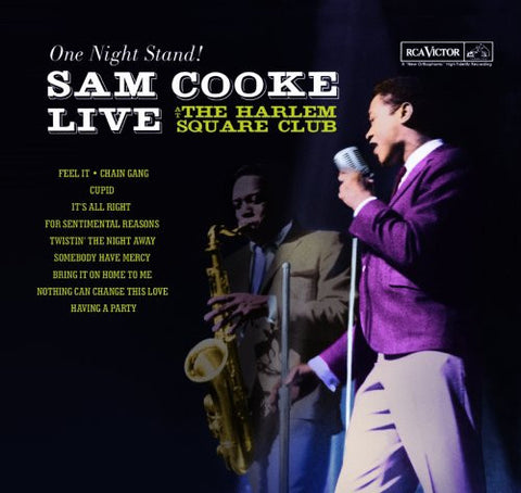 Sam Cooke - Live at Harlem Square, 1963 - new LP