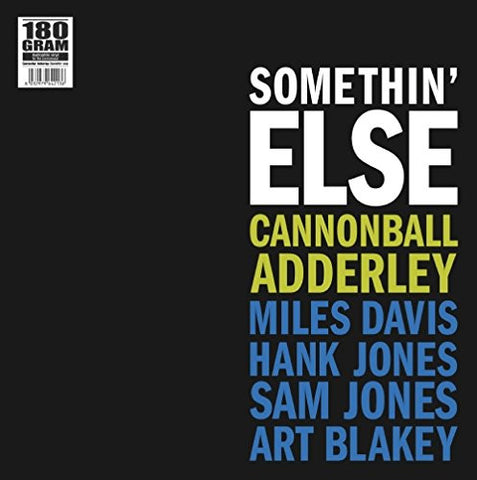 Cannonball Adderley - Somethin' Else - (180g) new LP