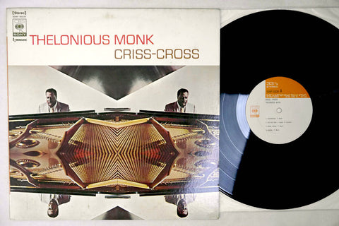 THELONIOUS MONK - CRISS-CROSS - Japanese pressing, used LP