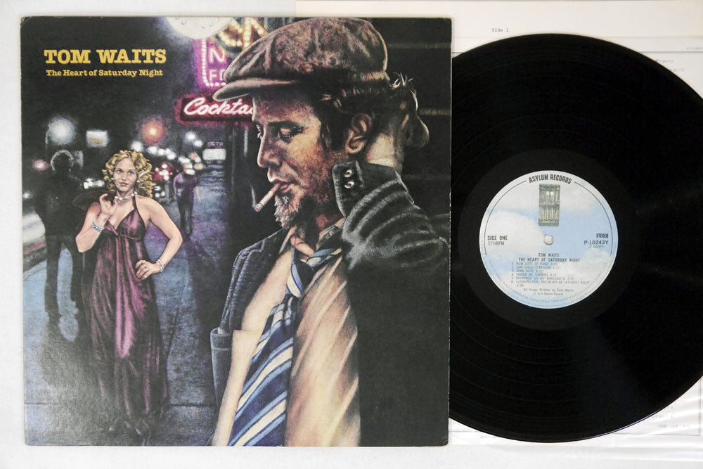 TOM WAITS - HEART OF SATURDAY NIGHT - 1st Japanese pressing, used LP