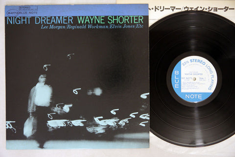 WAYNE SHORTER - NIGHT DREAMER - 1984 Japanese re-issue, used LP