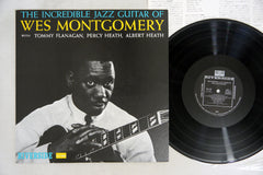WES MONTGOMERY - INCREDIBLE JAZZ GUITAR OF - Japanese pressing, used LP
