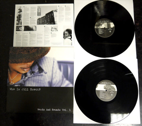 Who Is Jill Scott? Vol. 1 - used 2LP