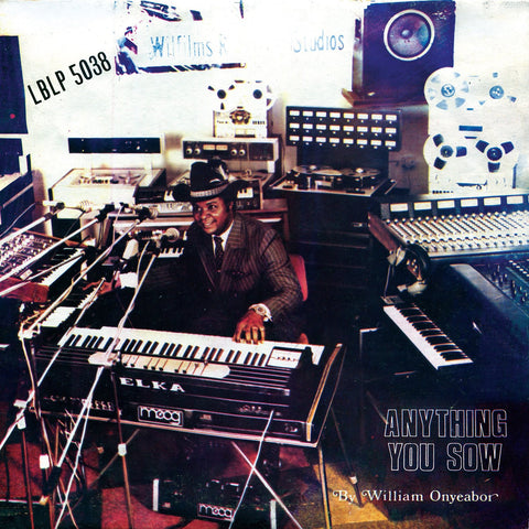 William Onyeabor - Anything You Sow - new LP