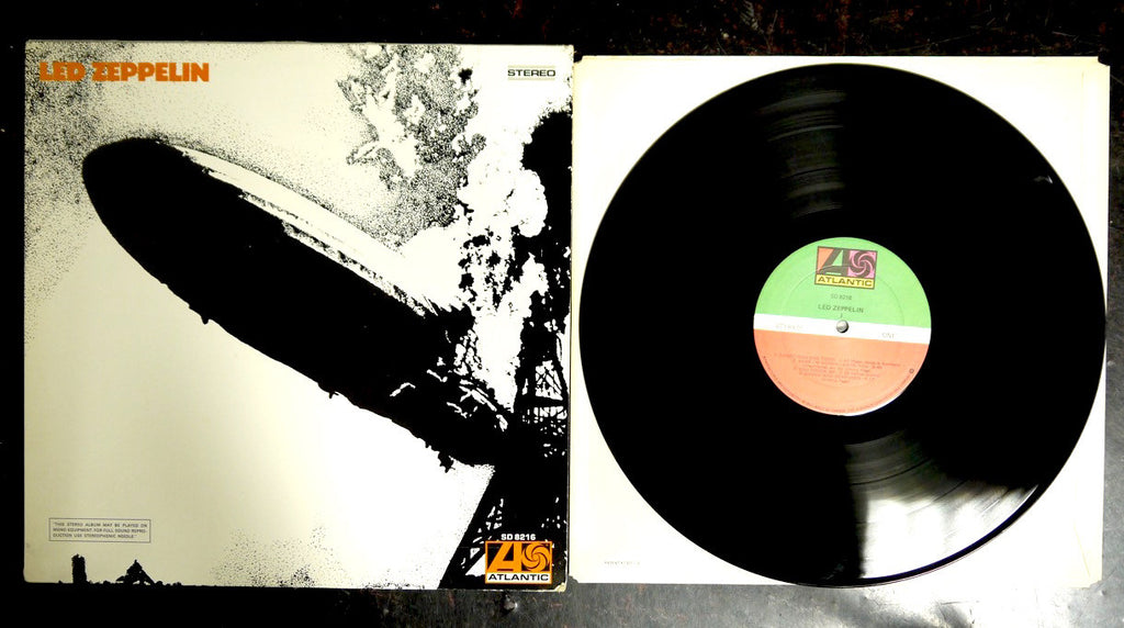 Led Zeppelin I (1) - used LP