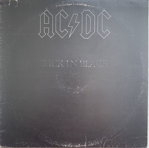 AC/DC ‎– Back In Black - USED VINYL