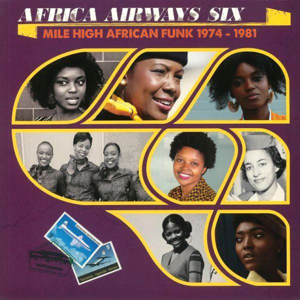 Various ‎– Africa Airways Six (Mile High African Funk 1974-1981) - new vinyl