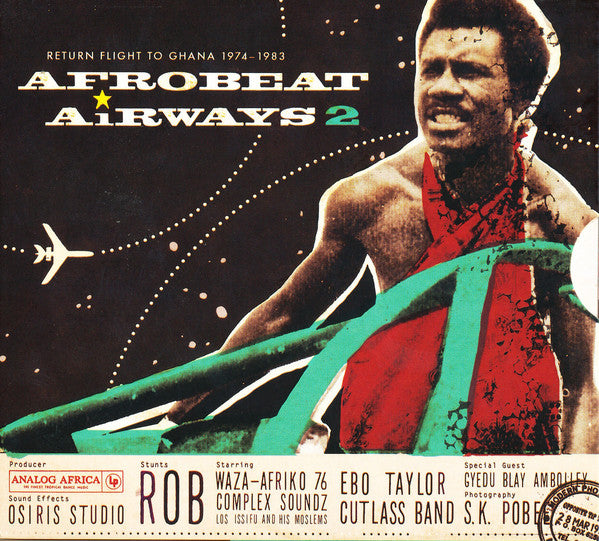 Various ‎– Afrobeat Airways 2 - Return Flight To Ghana 1974-1983 - new vinyl