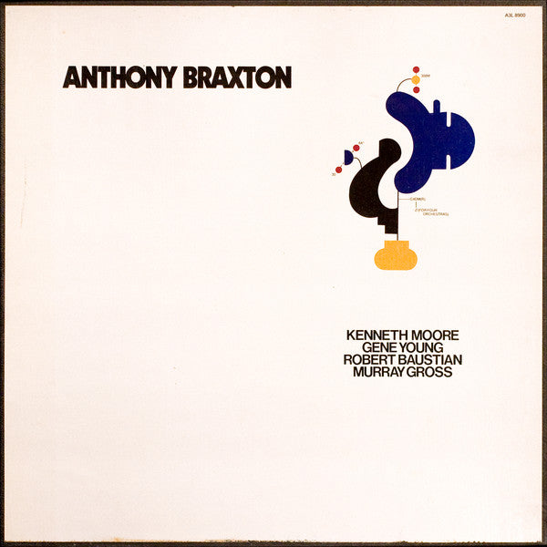 Anthony Braxton ‎– For Four Orchestras - Used Vinyl