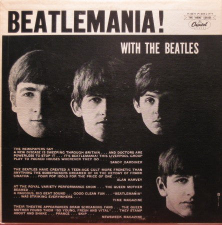 The Beatles ‎– Beatlemania! With The Beatles - USED VINYL