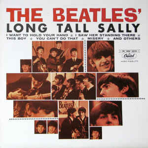 The Beatles ‎– Long Tall Sally - USED VINYL