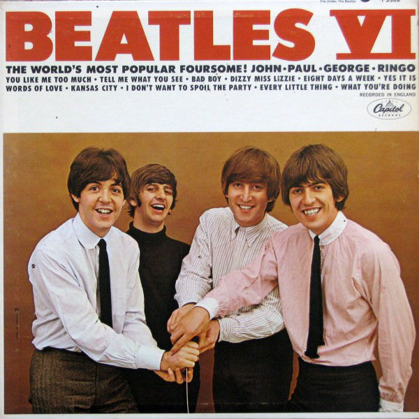 The Beatles ‎– Beatles VI - USED VINYL