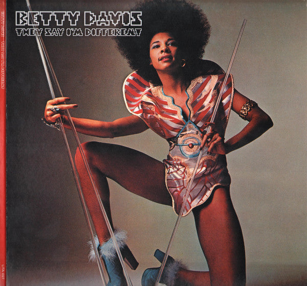 Betty Davis ‎– They Say I'm Different - new vinyl