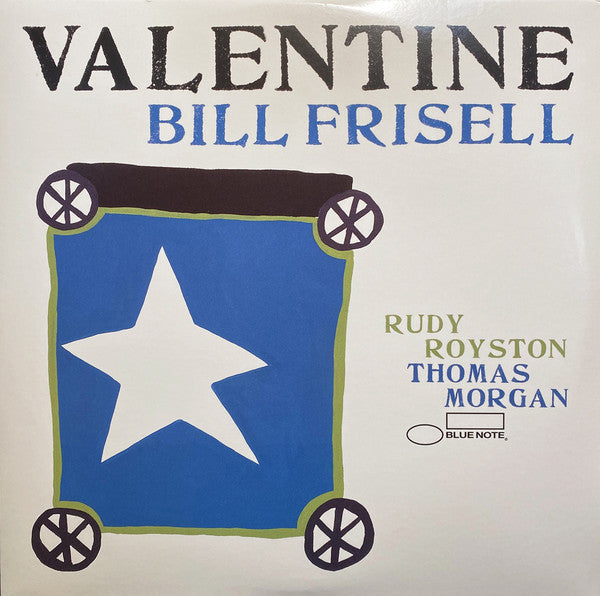 Bill Frisell ‎– Valentine - new vinyl