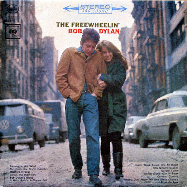 Bob Dylan ‎– The Freewheelin' Bob Dylan - USED VINYL