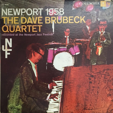 The Dave Brubeck Quartet ‎– Newport 1958 - USED VI YL