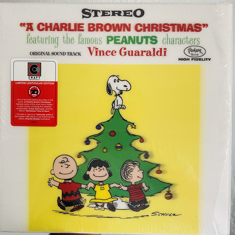 Vince Guaraldi ‎– A Charlie Brown Christmas - new vinyl