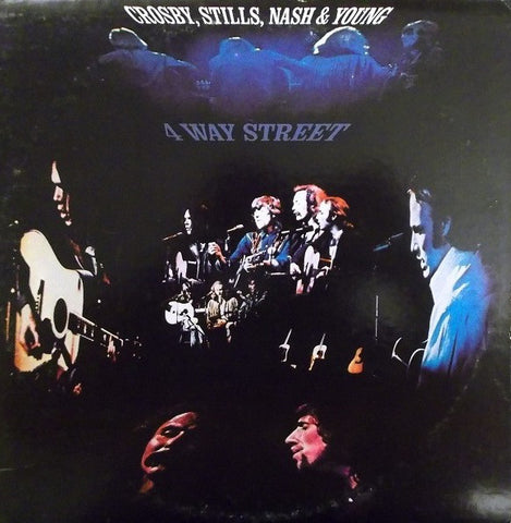 Crosby, Stills, Nash & Young ‎– 4 Way Street - used vinyl
