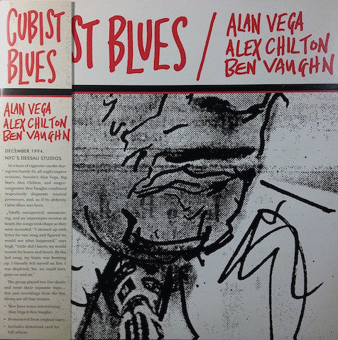 Alan Vega · Alex Chilton · Ben Vaughn ‎– Cubist Blues - new vinyl