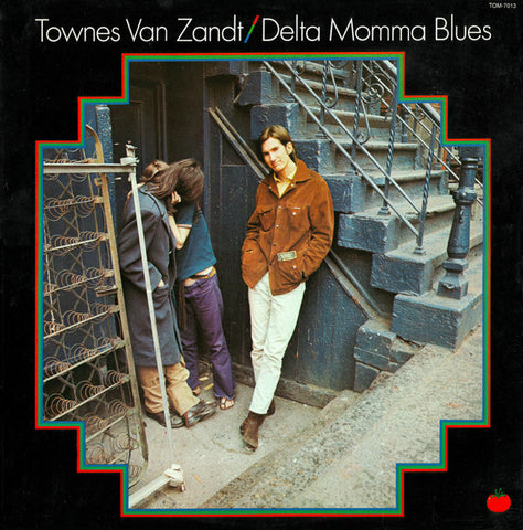 Townes Van Zandt ‎– Delta Momma Blues - new vinyl