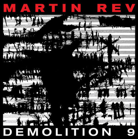 Martin Rev ‎– Demolition 9 - new vinyl