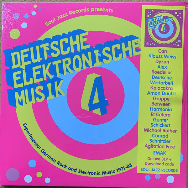 Various ‎– Deutsche Elektronische Musik 4 (Experimental German Rock and Electronic Music 1971-83) - new vinyl