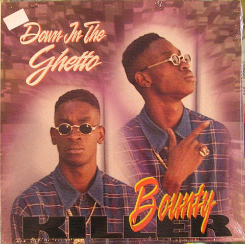 Bounty Killer ‎– Down In The Ghetto - USED VINYL