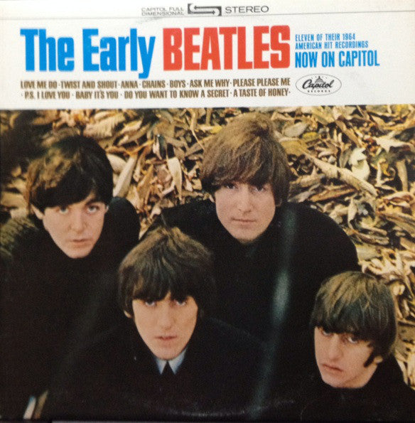 The Beatles ‎– The Early Beatles - USED VINYL