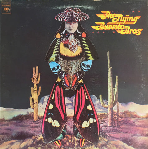 The Flying Burrito Bros ‎– Flying Again - USED VINYL