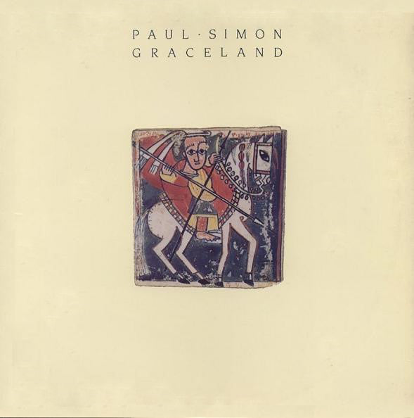 Paul Simon - Graceland - used vinyl