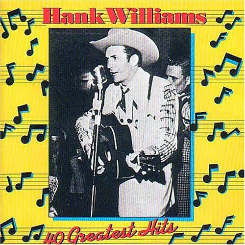 Hank Williams ‎– Hank Williams - 40 Greatest Hits - new vinyl
