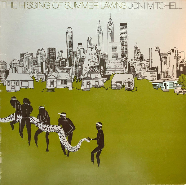 Joni Mitchell ‎– The Hissing Of Summer Lawns - new vinyl