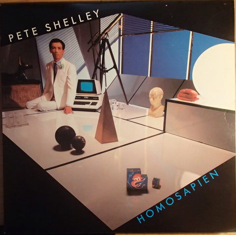 Pete Shelley ‎– Homosapien - USED VINYL