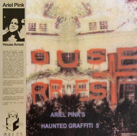 Ariel Pink's Haunted Graffiti 5  ‎– House Arrest - new vinyl