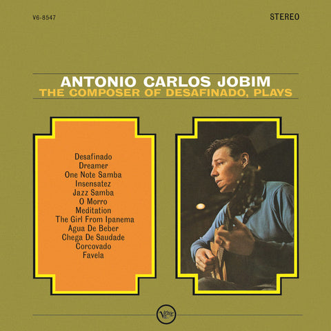 Antonio Carlos Jobim ‎– The Composer Of Desafinado - new vinyl