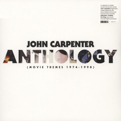 John Carpenter ‎– Anthology (Movie Themes 1974-1998) - USED VINYL