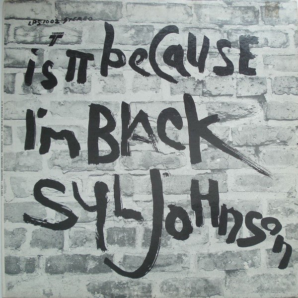 Syl Johnson ‎– Is It Because I'm Black - new vinyl