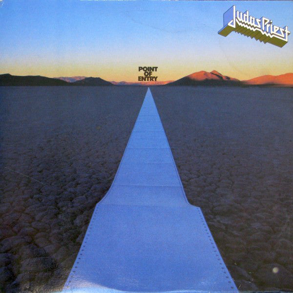 Judas Priest ‎– Point Of Entry - used vinyl