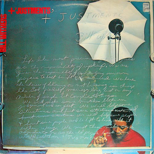 Bill Withers ‎– +'Justments - new vinyl