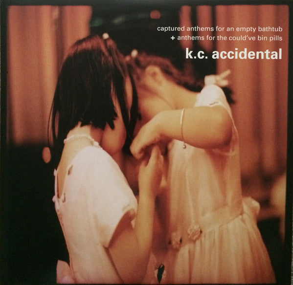 K.C. Accidental - Captured Anthems For An Empty Bathtub + Anthems For The Could've Been Pills (Arts & Crafts) 2xLP, RE - USED VINYL